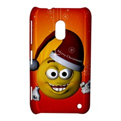 Cute Funny Christmas Smiley With Christmas Tree Nokia Lumia 620