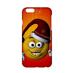 Cute Funny Christmas Smiley With Christmas Tree Apple Iphone 6/6s Hardshell Case