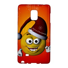 Cute Funny Christmas Smiley With Christmas Tree Galaxy Note Edge