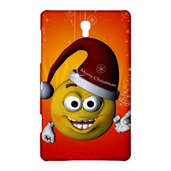 Cute Funny Christmas Smiley With Christmas Tree Samsung Galaxy Tab S (8 4 ) Hardshell Case