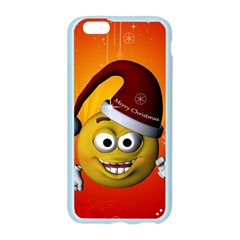 Cute Funny Christmas Smiley With Christmas Tree Apple Seamless iPhone 6/6S Case (Color)
