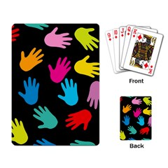 All Over Hands Playing Card