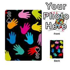 All Over Hands Playing Cards 54 Designs