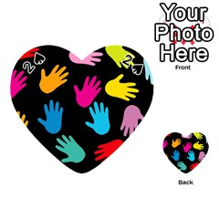 All Over Hands Playing Cards 54 (heart)