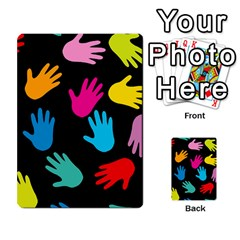 All Over Hands Multi Purpose Cards (rectangle)