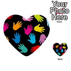 All Over Hands Multi-purpose Cards (Heart)