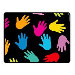 All Over Hands Fleece Blanket (Small)