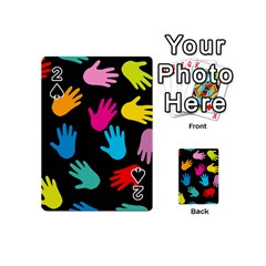 All Over Hands Playing Cards 54 (Mini)