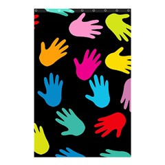 All Over Hands Shower Curtain 48  X 72  (small)