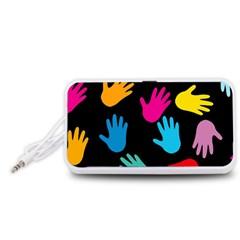 All Over Hands Portable Speaker (White)