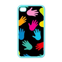 All Over Hands Apple iPhone 4 Case (Color)
