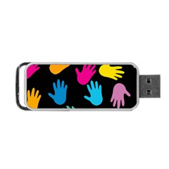 All Over Hands Portable USB Flash (One Side)
