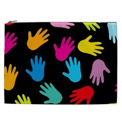 All Over Hands Cosmetic Bag (XXL)