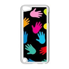 All Over Hands Apple iPod Touch 5 Case (White)