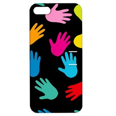 All Over Hands Apple iPhone 5 Hardshell Case with Stand