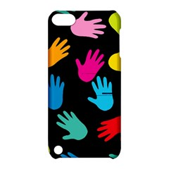 All Over Hands Apple iPod Touch 5 Hardshell Case with Stand