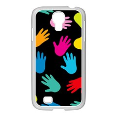 All Over Hands Samsung GALAXY S4 I9500/ I9505 Case (White)