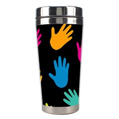 All Over Hands Stainless Steel Travel Tumblers