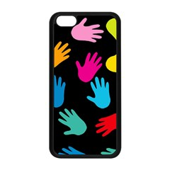 All Over Hands Apple Iphone 5c Seamless Case (black)