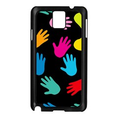 All Over Hands Samsung Galaxy Note 3 N9005 Case (Black)