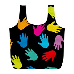 All Over Hands Full Print Recycle Bags (l)
