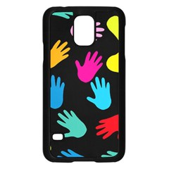 All Over Hands Samsung Galaxy S5 Case (black)
