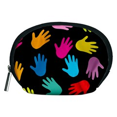 All Over Hands Accessory Pouches (Medium)