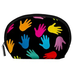 All Over Hands Accessory Pouches (large)