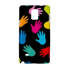 All Over Hands Samsung Galaxy Note 4 Hardshell Case