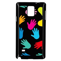 All Over Hands Samsung Galaxy Note 4 Case (black)