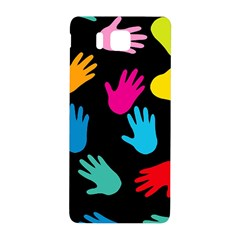 All Over Hands Samsung Galaxy Alpha Hardshell Back Case