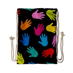 All Over Hands Drawstring Bag (Small)