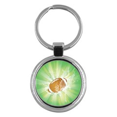 American Football  Key Chains (Round)