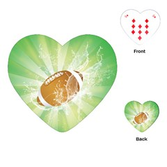 American Football  Playing Cards (heart)