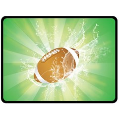 American Football  Fleece Blanket (large)