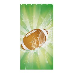 American Football  Shower Curtain 36  X 72  (stall)