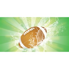 American Football  YOU ARE INVITED 3D Greeting Card (8x4)