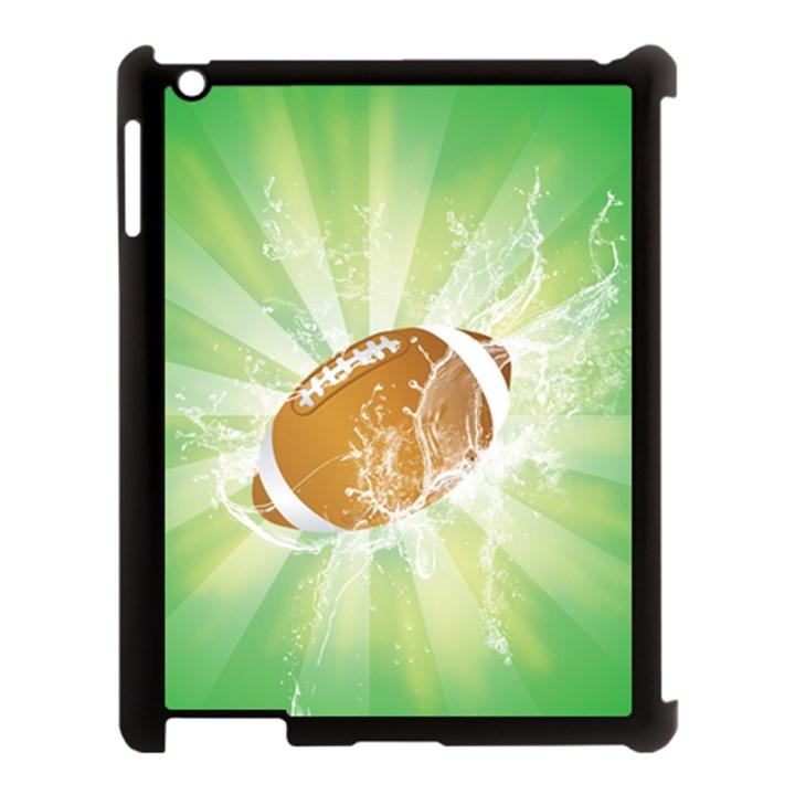 American Football  Apple iPad 3/4 Case (Black)