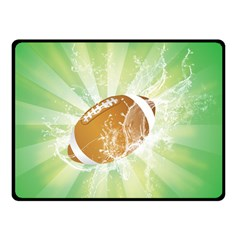 American Football  Double Sided Fleece Blanket (Small)