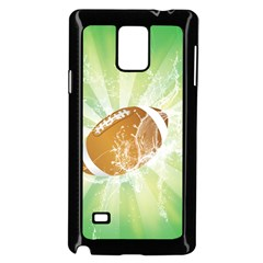 American Football  Samsung Galaxy Note 4 Case (black)