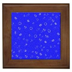 Sweetie Blue Framed Tiles