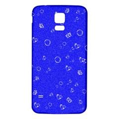 Sweetie Blue Samsung Galaxy S5 Back Case (white)