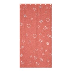 Sweetie Peach Shower Curtain 36  X 72  (stall)