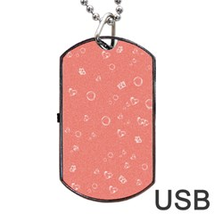 Sweetie Peach Dog Tag USB Flash (Two Sides)