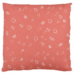 Sweetie Peach Standard Flano Cushion Cases (one Side)