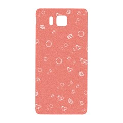 Sweetie Peach Samsung Galaxy Alpha Hardshell Back Case