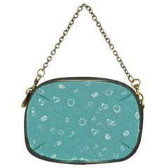 Sweetie Soft Teal Chain Purses (Two Sides)