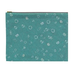 Sweetie Soft Teal Cosmetic Bag (XL)