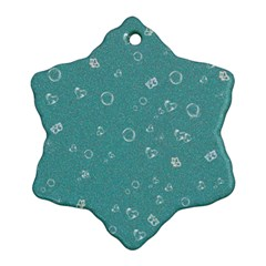 Sweetie Soft Teal Ornament (Snowflake)