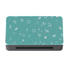 Sweetie Soft Teal Memory Card Reader with CF